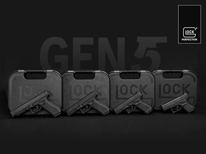 Glock Generation 5 Pistols