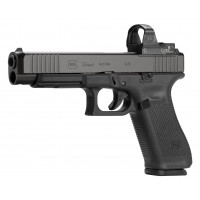 Glock G34 Gen5 MOS 9mm  Front Serrated 3 17Rd mags