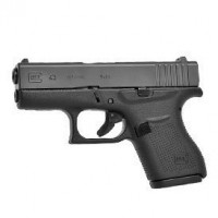 Glock G43 9mm Single Stack Pistol Gen4 fixed Sights