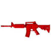 ASP 07410 M4 Government Carbine Collapsed Stock Red Training Rifle